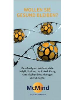 Flyer zur Patienteninformation über Gen-Analysen